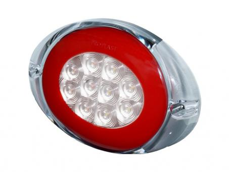 LED Rear Combination Lamp PRO-OVAL 12/24 volt, cable 0,5m