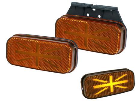 LED Seitenmarkierungsleuchte PRO-JACK 12/24 Volt